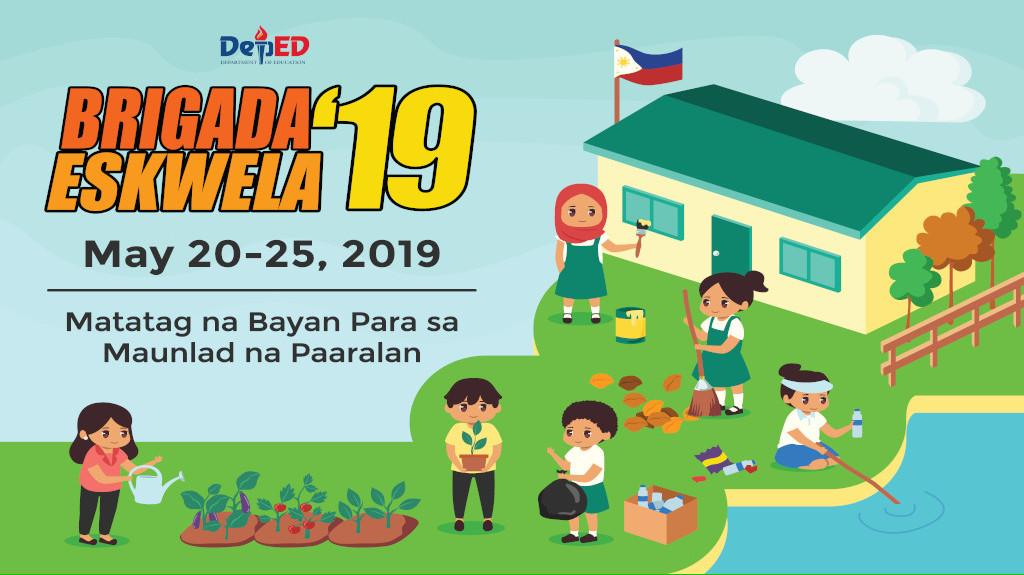 2019 Brigada Eskwela official banner