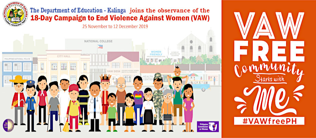 2019 18-Day Campaign to End Violence Against Women